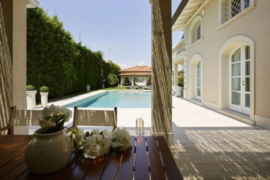 Villa Costes complex of two independent villas with pool for sale in Forte dei Marmi : villa  for sale  Forte dei Marmi