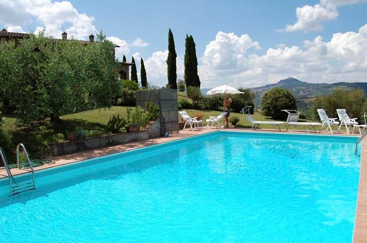 Rustic San Casciano : Swimming pool