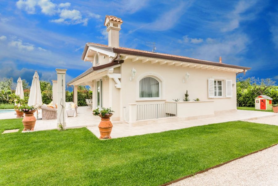 Villa for rent Forte dei Marmi : Outside view