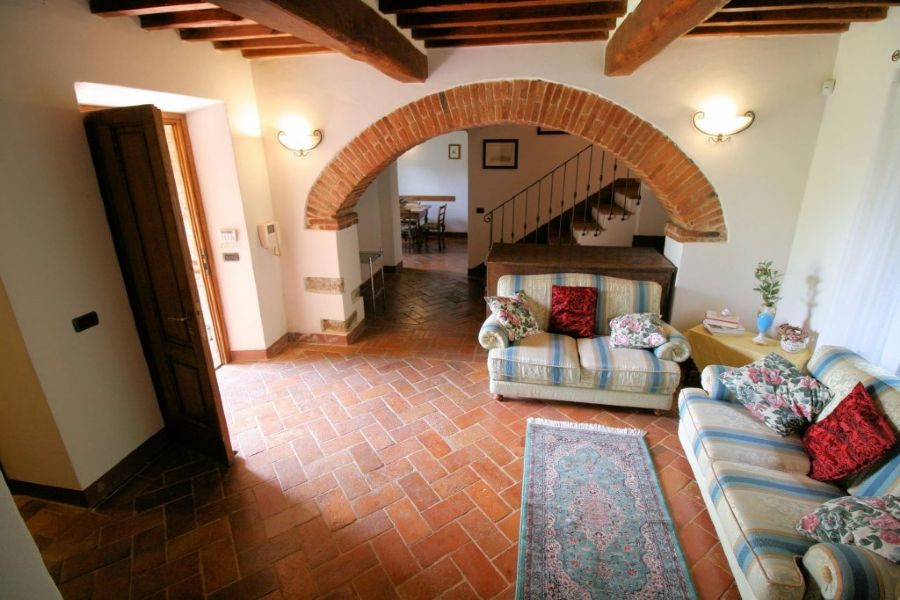 Farmhouse Lucignano : Inside view