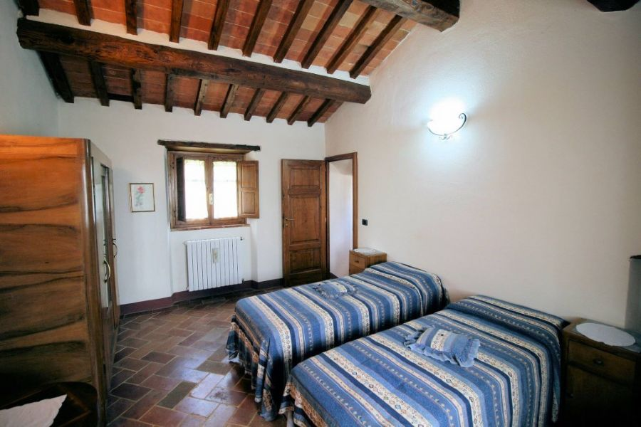Farmhouse Lucignano : Twin room