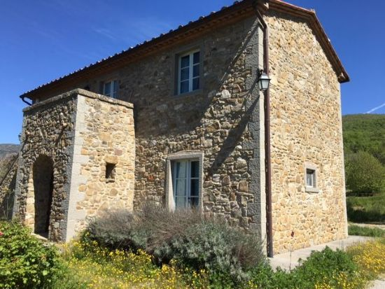 Farmhouse Cortona stone house for sale in Tuscany : rustic  for sale  Valdichiana