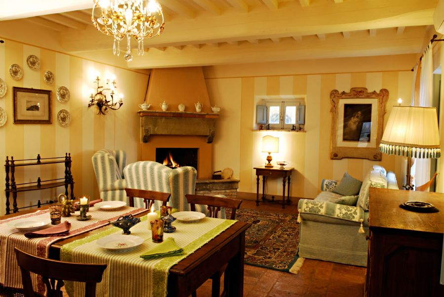 Farmhouse Cortona : Dining room