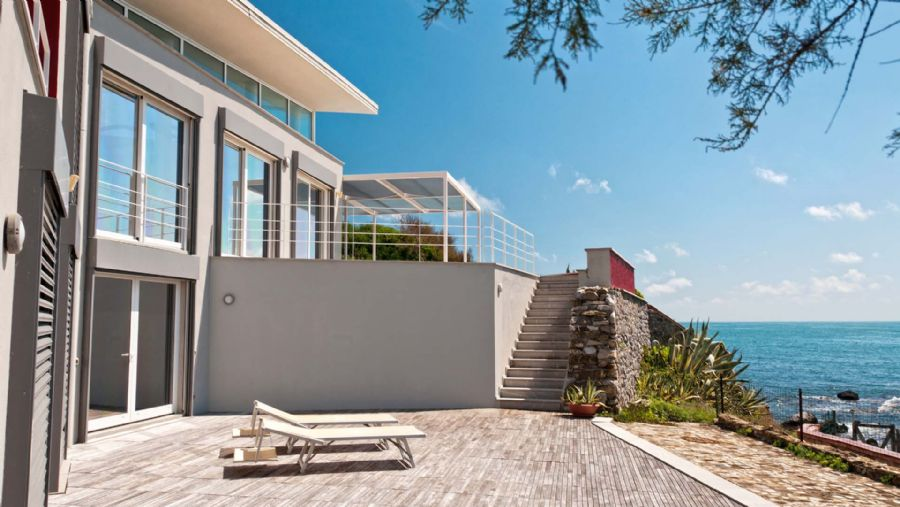 Luxury villa Leghorn coast : Outside view