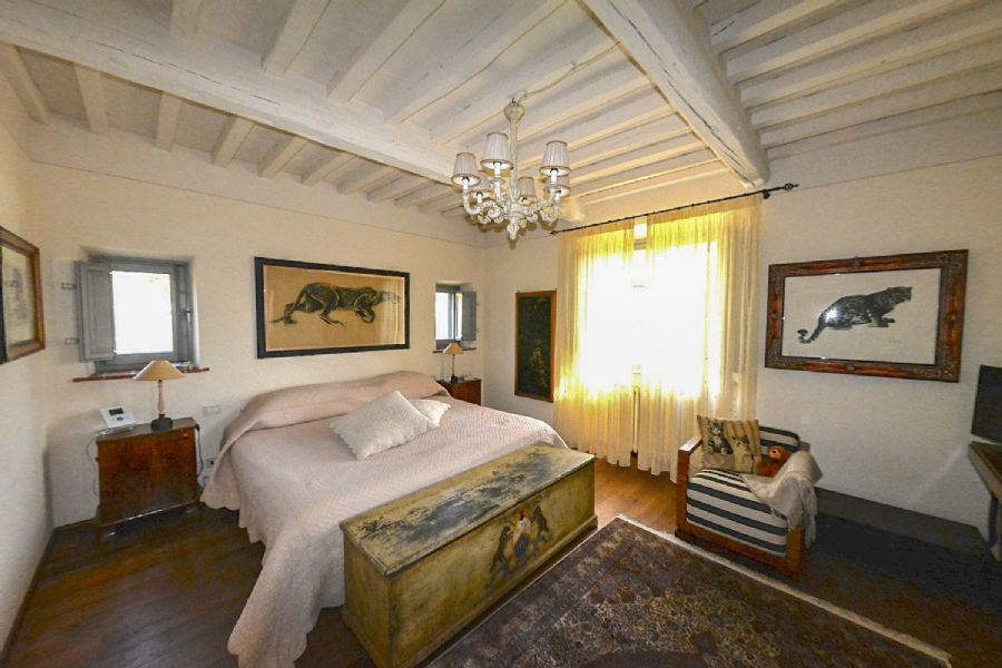 Villa Unique Camaiore : Double room